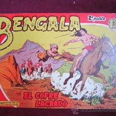 Tebeos: BENGALA Nº 2. 2ª PARTE. PEDRO QUESADA. EDITORIAL MAGA. ORIGINAL 1960. MBE. Lote 36902724