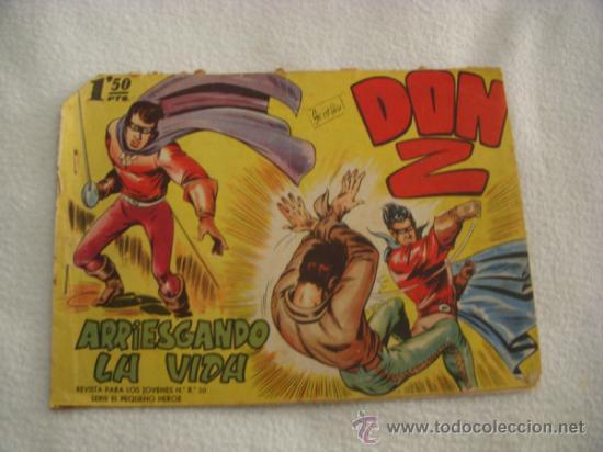 DON Z Nº 2, EDITORIAL MAGA (Tebeos y Comics - Maga - Don Z)
