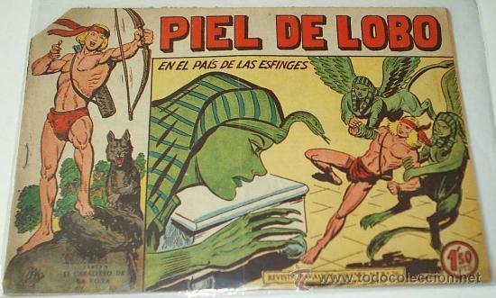 PIELDE LOBO Nº 80 ORIGINAL - LEER TODO (Tebeos y Comics - Maga - Piel de Lobo)