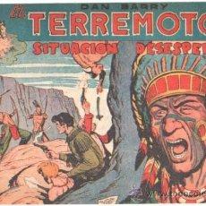 Tebeos: DAN BARRY EL TERREMOTO ORIGINAL EDI. MAGA 1954 - JOSÉ ORTIZ - 17 TEBEOS PLANCHA. Lote 37027268