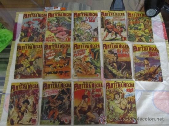 M69 LOTE DE PEQUEÑO PANTERA NEGRA EDITORIAL MAGA AÑO 58 (VER DESCRIPCION) (Tebeos y Comics - Maga - Pantera Negra)