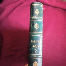 Tebeos: TOMO DE LUJO DE FLECHA ROJA ENCUADERNANDO DEL 41 AL 79 (ÚLTIMO). EDITORIAL MAGA ORIGINAL 1962. Lote 37248770