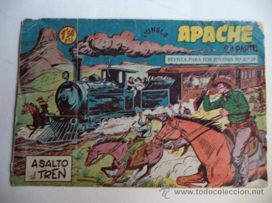 APACHE 2ª Nº13 (Tebeos y Comics - Maga - Apache)