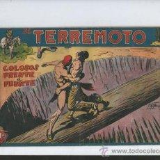 Tebeos: EL TERREMOTO.COLOSOS FRENTE A FRENTE.Nº 36. Lote 37552075