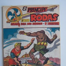 Tebeos: EL PRINCIPE DE RODAS Nº19-ORIGINAL MAGA 1960. Lote 37586986