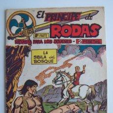 Tebeos: EL PRINCIPE DE RODAS Nº16-ORIGINAL MAGA 1960. Lote 37587044