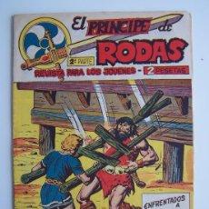 Tebeos: EL PRINCIPE DE RODAS Nº 14-ORIGINAL MAGA 1960. Lote 37587099