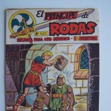 Tebeos: EL PRINCIPE DE RODAS Nº 12-ORIGINAL MAGA 1960. Lote 37587134