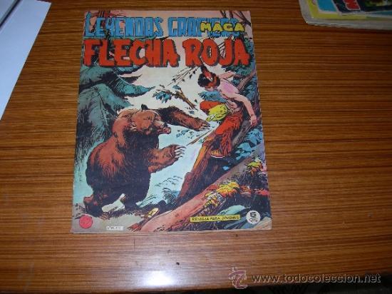 FLECHA ROJA Nº 42 DE MAGA (Tebeos y Comics - Maga - Flecha Roja)