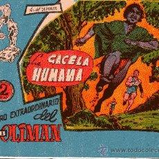 Tebeos: OLIMAN EXTRA Nº 9 LA GACELA HUMANA CONTRAPORTADA HERCULES C.F.. Lote 37678616