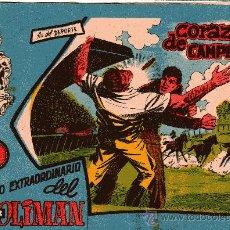 Tebeos: OLIMAN EXTRA Nº 13 CORAZÓN DE CAMPEÓN CONTRAPORTADA REAL MADRID C.F.. Lote 37678647