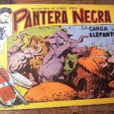 Tebeos: PANTERA NEGRA, EDITORIAL MAGA 1958, NÚMERO 5. Lote 37758791