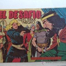 Tebeos: EL DUQUE NEGRO.Nº 7 ORIGINAL. Lote 37969583