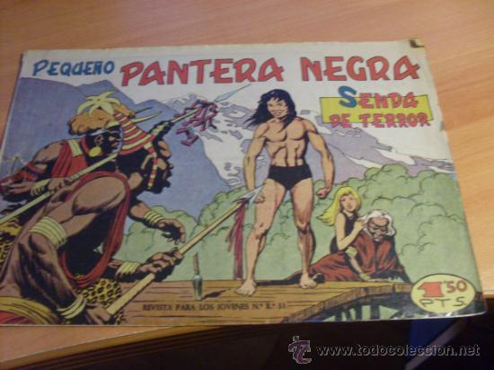 PEQUEÑO PANTERA NEGRA Nº 126 EL Nº 2 DE ESTA COLECCION (ORIGINAL ED. MAGA) (CLAS3) (Tebeos y Comics - Maga - Pantera Negra)