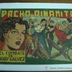 Tebeos: PACHO DINAMITA Nº 50 / EL COMBATE DE BOBY GALVEZ / MAGA ORIGINAL. Lote 38225471