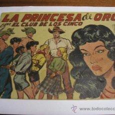 Giornalini: CON EL CLUB DE LOS CINCO Nº 9 / LA PRINCESA DE ORO / MAGA ORIGINAL. Lote 38229856