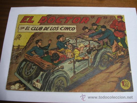 """CON EL CLUB DE LOS CINCO Nº 16 / EL DOCTOR """"I"""" / MAGA ORIGINAL (Tebeos y Comics - Maga - Otros)"""
