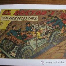 """Livros de Banda Desenhada: CON EL CLUB DE LOS CINCO Nº 16 / EL DOCTOR """"I"""" / MAGA ORIGINAL. Lote 38229878"""