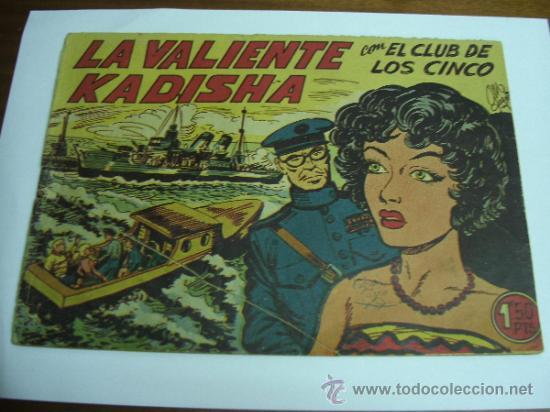 CON EL CLUB DE LOS CINCO Nº 19 / LA VALIENTE KADISHA / MAGA ORIGINAL (Tebeos y Comics - Maga - Otros)