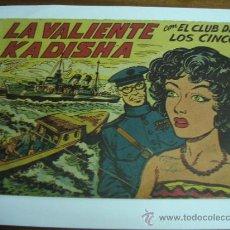 Livros de Banda Desenhada: CON EL CLUB DE LOS CINCO Nº 19 / LA VALIENTE KADISHA / MAGA ORIGINAL. Lote 38229905