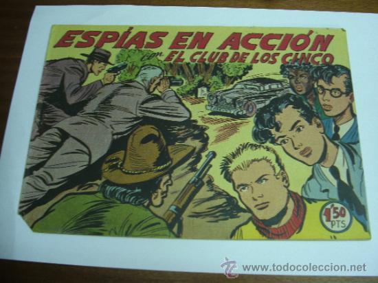 CON EL CLUB DE LOS CINCO Nº 22 / ESPÍAS EN ACCIÓN / MAGA ORIGINAL (Tebeos y Comics - Maga - Otros)