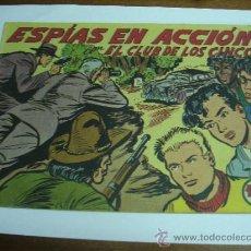 Livros de Banda Desenhada: CON EL CLUB DE LOS CINCO Nº 22 / ESPÍAS EN ACCIÓN / MAGA ORIGINAL. Lote 38229915