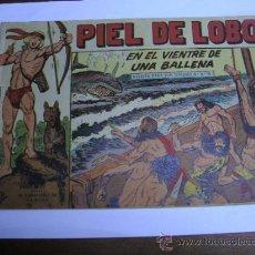 Livros de Banda Desenhada: PIEL DE LOBO Nº 38 / EN EL VIENTRE DE UNA BALLENA / MAGA ORIGINAL. Lote 38256684