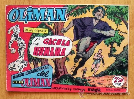 OLIMAN EXTRAORDINARIO Nº 9 - EDITORIAL MAGA 1963 (Tebeos y Comics - Maga - Oliman)