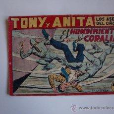 Tebeos: TONI Y ANITA Nº 85 1ª SERIE ORIGINAL. Lote 38441452