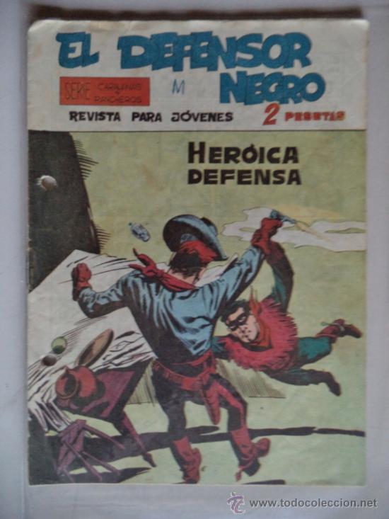 EL DEFENSOR NEGRO ORIGINAL Nº24 (Tebeos y Comics - Maga - Otros)