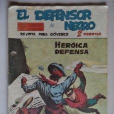 Tebeos: EL DEFENSOR NEGRO ORIGINAL Nº24. Lote 144216094