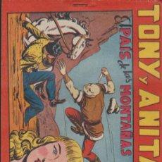 Tebeos: TONY Y ANITA Nº 72. MAGA 1951. SIN ABRIR. Lote 38491264