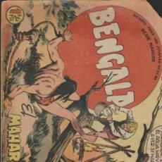 Tebeos: BENGALA Nº 38. MAGA 1959.. Lote 38498947