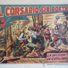 Livros de Banda Desenhada: EL CORSARIO SIN ROSTRO Nº 22. Lote 38631774