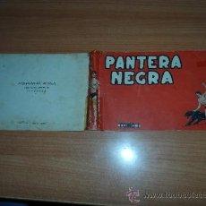 Tebeos: TAPAS ORIGINALES PANTERA NEGRA EDITORIAL MAGA 1956. Lote 38787634