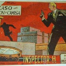 Tebeos: INSPECTOR H Nº 9 -- MAGA - ORIGINAL 1961- LEER. Lote 38903192