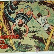 Tebeos: RAYO DE LA SELVA Nº 2 - MAGA 1960 - ORIGINAL. Lote 38975839