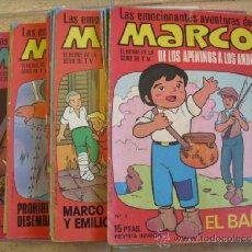 Tebeos: LOTE DE 46 TEBEOS, LAS EMOCIONANTE AVENTURAS DE MARCO 1976. Lote 39147133