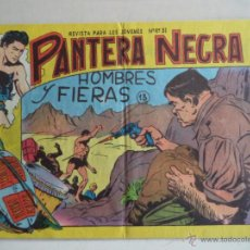 Tebeos: PANTERA NEGRA Nº13.ORIGINAL. Lote 39352154