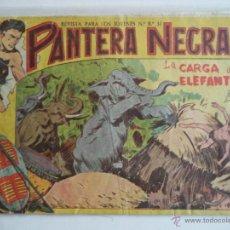 Tebeos: PANTERA NEGRA.Nº5.ORIGINAL. Lote 39352221