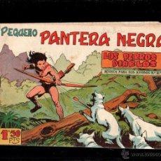Tebeos: PEQUEÑO PANTERA NEGRA. LOS PERROS MALEFICOS. Nº 142. ORIGINAL. 1958. EL DE LA FOTO. Lote 181522735