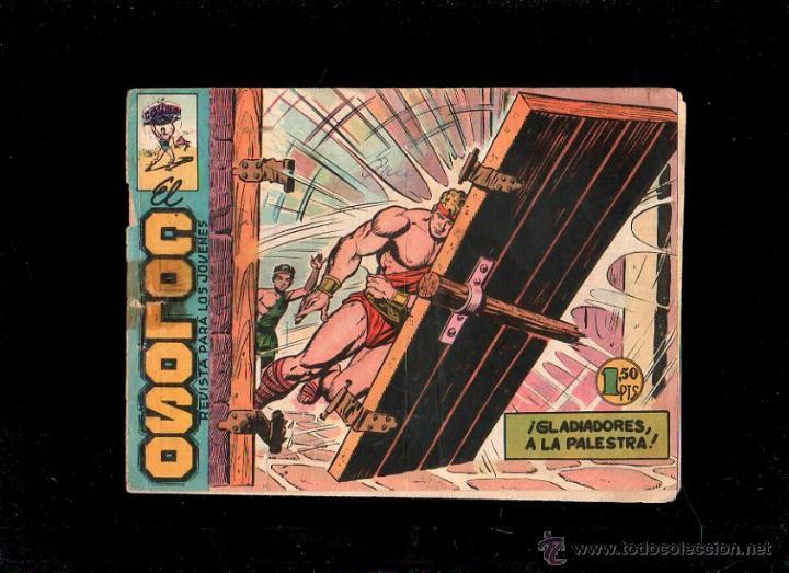 EL COLOSO. GLADIADORES A LA PALESTRA. Nº 31. ORIGINAL. 1960. EL DE LA FOTO (Tebeos y Comics - Maga - Otros)