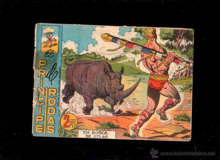 EL PRINCIPE DE RODAS. EN BUSCA DE ATLAS. Nº 55. ORIGINAL. 1960. EL DE LA FOTO (Tebeos y Comics - Maga - Otros)