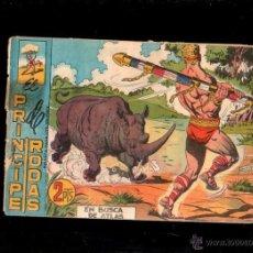 Tebeos: EL PRINCIPE DE RODAS. EN BUSCA DE ATLAS. Nº 55. ORIGINAL. 1960. EL DE LA FOTO. Lote 39483286
