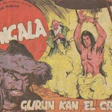 Tebeos: BENGALA Nº 42, GURUN KAN EL CRUEL (ORIGINAL, NO REPRODUCCION). Lote 39528895
