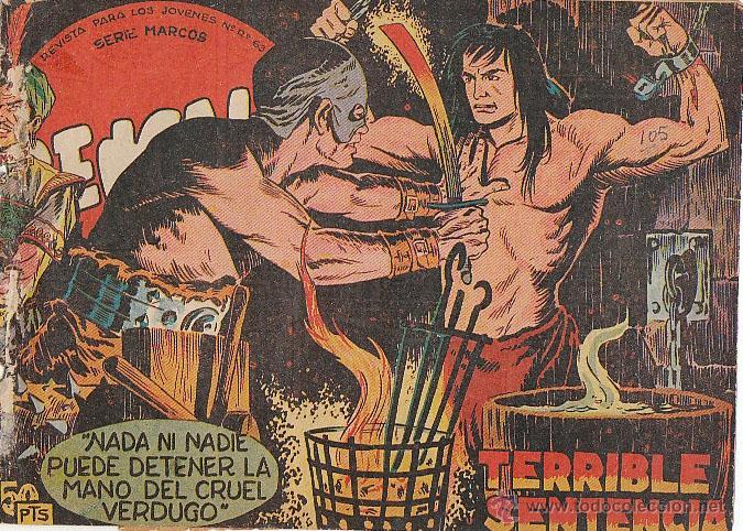 BENGALA Nº 19, TERRIBLE SENTENCIA (ORIGINAL, NO REPRODUCCION) (Tebeos y Comics - Maga - Bengala)