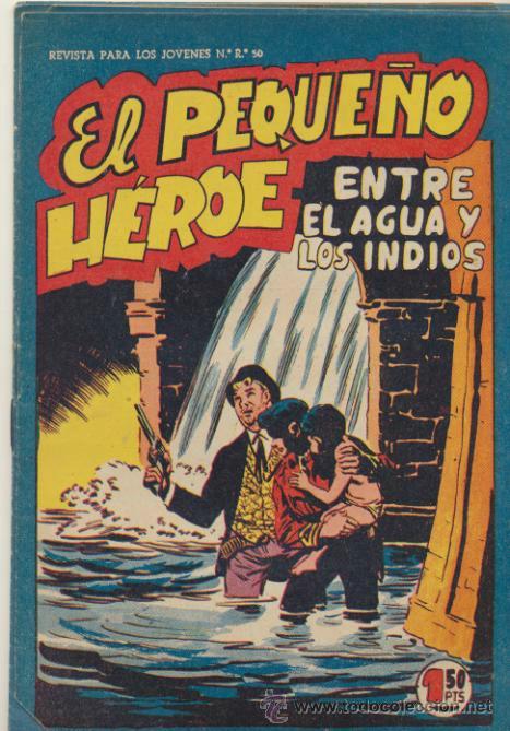 EL PEQUEÑO HÉROE. MAGA 1956. LOTE DE 6 EJEMPLARES: 20,31,32,35,36,63. SIN ABRIR (Tebeos y Comics - Maga - Pequeño Héroe)