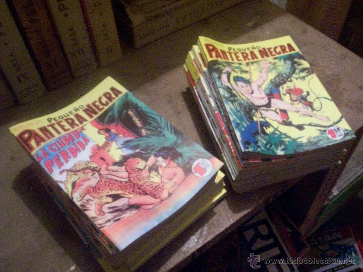 COLECCIÓN COMPLETA TEBEO/CÓMIC EL PEQUEÑO PANTERA NEGRA BOLSILLO NUEVOS MAGA 1958 (Tebeos y Comics - Maga - Pantera Negra)
