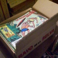 Tebeos: COLECCIÓN COMPLETA TEBEOS/CÓMIC RAYO DE LA SELVA SUELTOS NUEVOS MAGA 1960 Nº 1 A 83. Lote 217899250