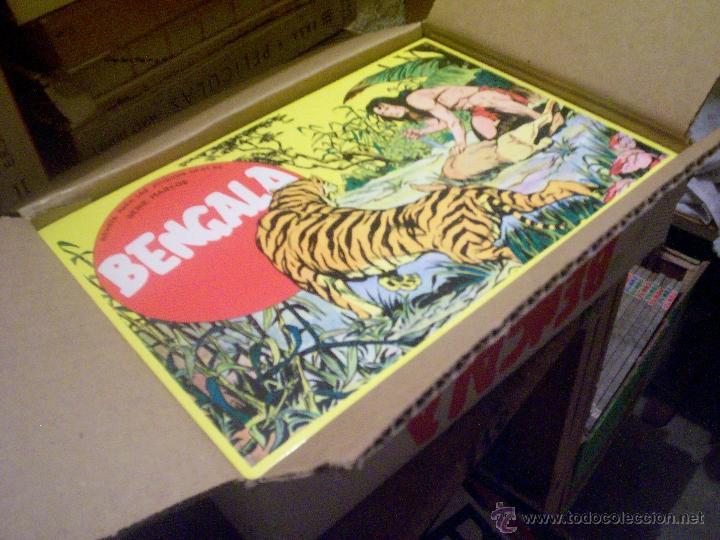 COLECCIÓN COMPLETA TEBEOS/CÓMIC BENGALA 1ª PARTE SUELTOS NUEVOS MAGA Nº 1 AL 54 (Tebeos y Comics - Maga - Bengala)